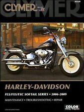 2006-2009 Harley Davidson Fatboy Softail CLYMER REPAIR MANUAL M250
