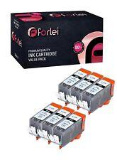 6 NON-OEM INK CARTRIDGE CANON PGI-220 PGI-220BK BLACK PIXMA MX870 MP640R MP620B