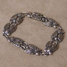 John Lauritzen Denmark Sterling Silver Link Bracelet
