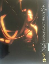 51ST Annual EMMY AWARDS Official 180 pgs Program Book 1999