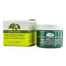 NEW Origins Make A Difference Night Overnight Hydrating Repair Cream 50ml Womens