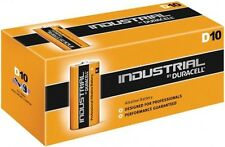 Duracell ID1300-L D Size Industrial Alkaline Batteries (Pack of 10)
