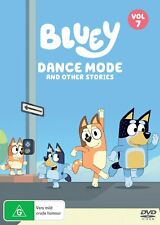 Bluey Volume 7 Dance Mode DVD Region 4 &