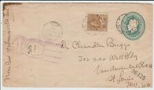 #118 & #U27  King George V (1925) 10¢  KING GEORGE V (1923) 2¢  EMBOSSED  (B1)