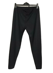 Ladies CRANE Black Padded Seat Cycling Tights/Leggings Trousers Size Large