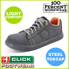 Warehouse Tradesman Mechanics Work Safety Trainers Sneakers Shoes Steel Toe Cap