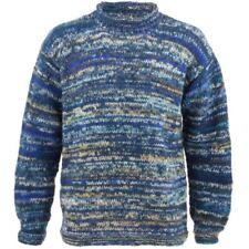 Jersey de hombre en color principal azul de punto