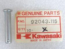 Kawasaki NOS NEW  92043-115 Footrest Bar Pin EL EX KE KL KT KX KZ KDX 1974-2014