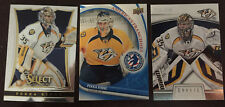3 Pekka Rinne Cards 2012 USA #4 National Hockey Card Day, 2013-4 Select #132, +1