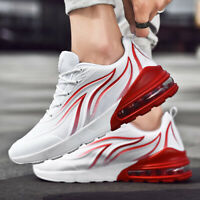Men Breathable Air Cushion Casual Walking Running Shoes Sports Athletic Sneakers