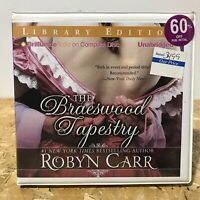 The Braeswood Tapestry by Robyn Carr Ex Library 9 CD Unabridged Audiobook