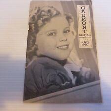 Cinema Memorabilia Gaumont British Magazine Jan 1937