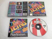 ** el siguiente Tetris ** Playstation 1/2 PS1/PS2/PSX/PSOne Juego de Puzzle