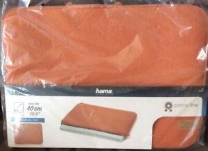 "Hama 15.6"" , 40CM Padded Notebook Case, Laptop Case. Burnt Orange BNIB (NE)"