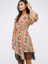 NWT Free People Women's Cactus Rose Mini Dress Size S GORGEOUS! $198