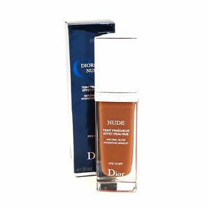 Christian Dior Diorskin Nude Natural Glow Hydrating Makeup Spf10- 070 Dark Brown