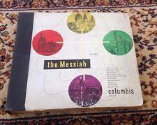 Vintage 1947 Columbia Masterworks Box Set - Handel: The Messiah Volume 1