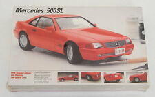 TESTORS MERCEDES 500SL PLASTIC MODEL CAR KIT 1/24 SEALED