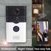 Smart DoorBell WiFi Video Camera Phone Door Intercom IR Night Vision P2P ZJ008