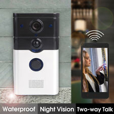 Smart DoorBell WiFi Video Camera Phone Door Intercom IR Night Vision P2P ZJ008