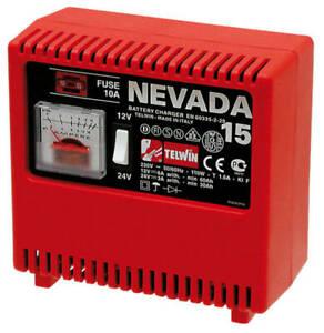 caricabatteria caricabatterie Telwin Nevada 15 12/24V caricatore avviatore