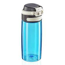 Leifheit Trinkflasche Tritan Flip light blue Flasche Tritan Silikon 550 ml 3266