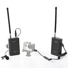 Saramonic Wireless Lavalier Camera Microphone for Canon SLR GoPro Hero 4 3 3+