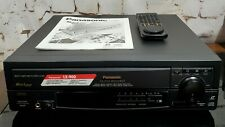 Panasonic LX-900U Laser Disc Player Bundle w/ Remote & Manual, Auto Reverse