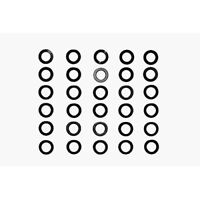 Tamiya 53585 3mm Shim Set 10X3 Types - RC Hop-ups