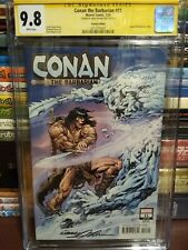Conan the Barbarian #11 Neal Adams Variant CGC Signature Series 9.8 NM+ SIGNED
