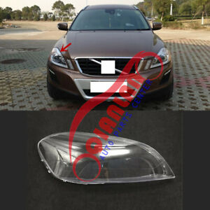 For Volvo XC60 2010-2013 Right Side Headlight Lens Cover + Sealant Glue