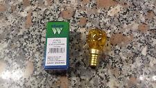 WIMEX 4130612 lamp  incandescenza  deco 3C colore esterno E14 26x54 mm GIALLA