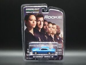 2021 GREENLIGHT 1971 CHEVROLET CHEVELLE SS THE ROOKIE HOLLYWOOD SERIES 32 1:64