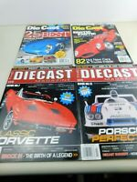 Lot of 4 DIECAST  MAGAZINE Issues