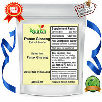 Pure Panax Ginseng Extract Ginsenosides Powder 1 KG for  Dietary Supplement