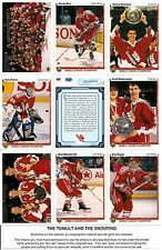 1990-91 UD Upper Deck Team Canada Complete Team Set (23)