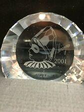 Swarovski Harlquin 60 Mm Plaque *Mint* With Original Box *