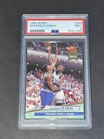 1992 Fleer Ultra #328 Shaquille O'Neal PSA 9 RC Rookie Red Hot !!!
