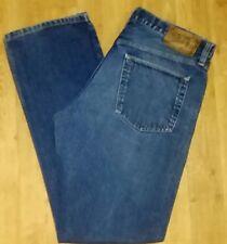 EDDIE BAUER Sz 35X34 Men's Straight Fit Pants Trousers Denim Jeans!