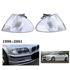 For 1999-2001 BMW E46 325i/325xi/330i/330xi/323i/328i/M3 4DR Corner Lights Lamps