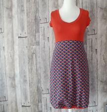 Mehrfarbige Damenkleider im Boho -/Hippie-Stil aus Jersey