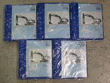 Volvo Construction Equipment EC250E Service Manuals 5 Vol Set NEW VOLVO