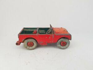 DINKY TOYS LAND ROVER die cast model car.
