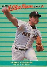 Fleer Roger Clemens Boston Red Sox Original Baseball Cards