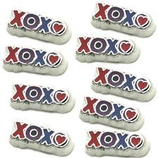 Colourful Enamel 'XOXO' Floating Charm For Living Memory Locket