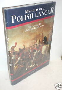 MILITARY BOOK, In Shrink Wrap, First Person Account, Napoleon, Polish Lancer, op