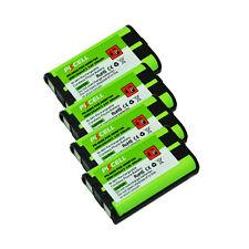 4 Cordless Phone Battery Ni-MH 5/4AAA 800mAh 3.6V for Panasonic HHR P104 PKCELL