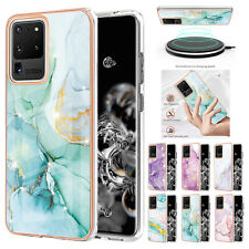 For Samsung S21+ S20 Ultra A12 A32 A52 A21S A11 Marble TPU Shockproof Case Cover