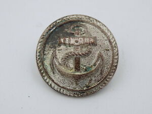 Original WWII 1943 German Navy - Kriegsmarine Uniform Buttons - Silver Admin