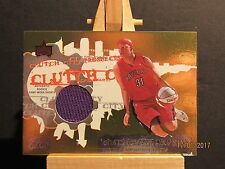 2006-07 Topps Clutch City Prospects Relics Autographs #2 Charlie Villanueva ERR